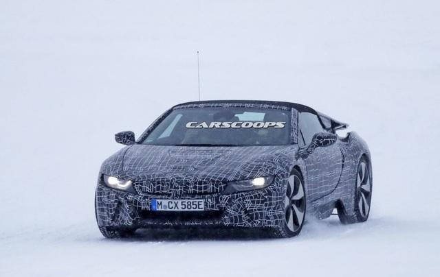 BMW i8 Spyder xuất hiện trên đường thử - 5