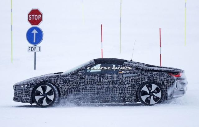BMW i8 Spyder xuất hiện trên đường thử - 8