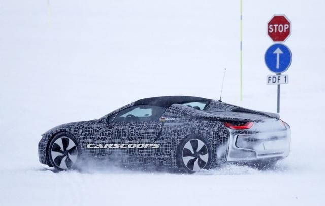 BMW i8 Spyder xuất hiện trên đường thử - 9