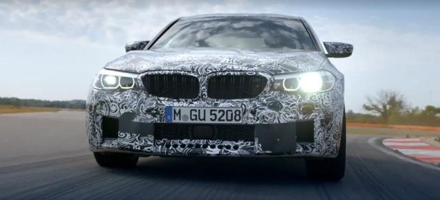 BMW M5 thế hệ mới có công suất 600 mã lực - 1