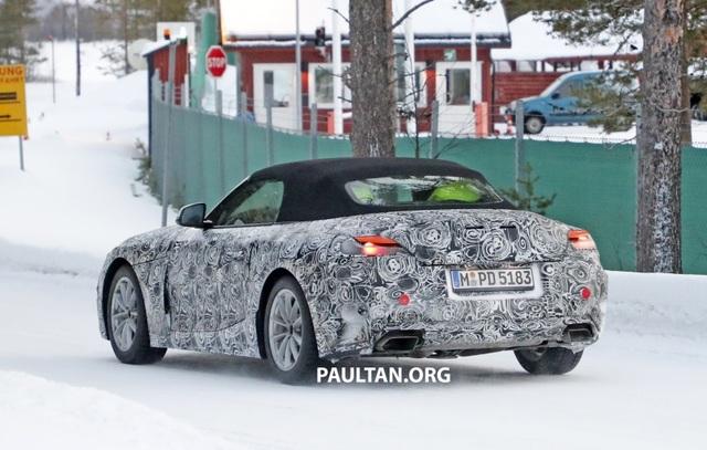 Hình ảnh đầu tiên về mẫu xe mui trần sẽ thay thế BMW Z4 - 7