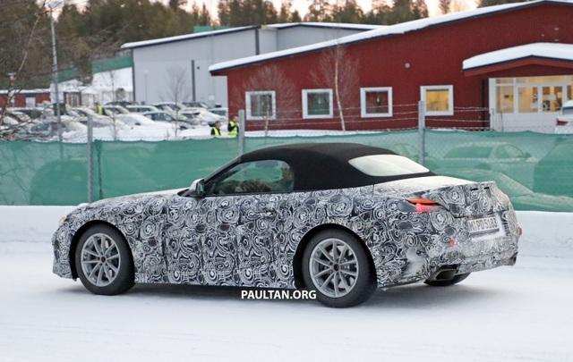 Hình ảnh đầu tiên về mẫu xe mui trần sẽ thay thế BMW Z4 - 6