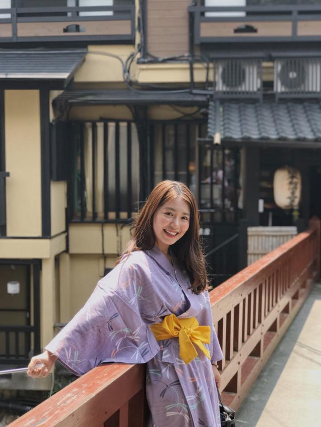 Mẫn Tiên hiện đang du học ở Nhật Bản