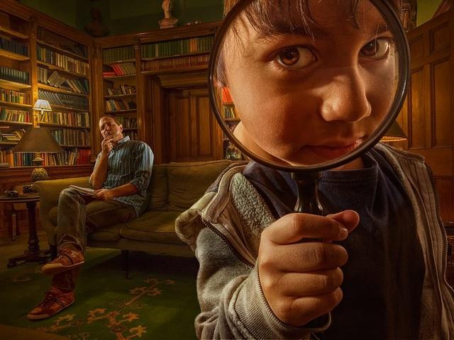 Bác sỹ John Watson và thám tử lừng danh Sherlock Holmes siêu dễ thương!