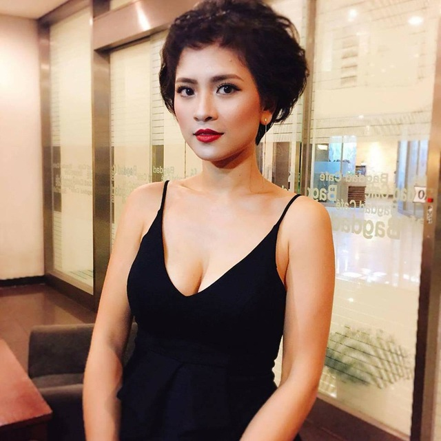 """Ngoài đời, nữ diễn viên đảm nhiệm vai Hương """"Phố"""" - Thúy An là diễn viên của Nhà hát Kịch Hà Nội."""