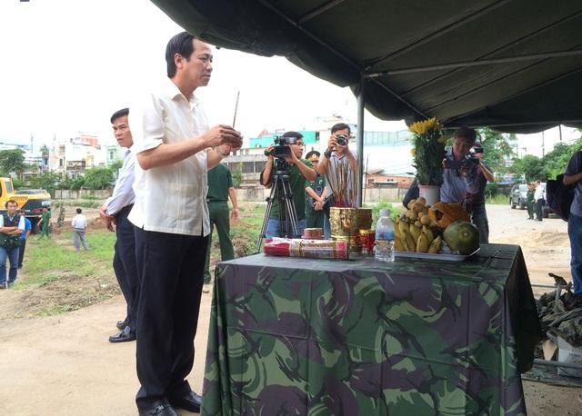 Chiều 12/7, Bộ trưởng Bộ Lao động – Thương binh và Xã hội Đào Ngọc Dung và lãnh đạo Tổng Cục Chính trị Quân đội nhân dân Việt Nam đã đến kiểm tra tình hình khảo sát và động viên tinh thần làm việc của cán bộ, chiến sĩ tại đây