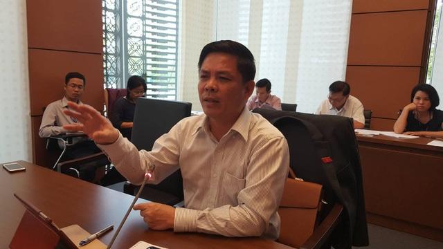 Bộ trưởng Bộ Giao thông vận tải Nguyễn Văn Thể (Ảnh: Thế Kha).