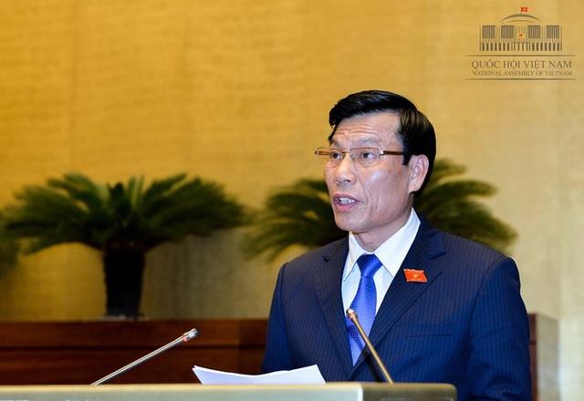 Bộ trưởng Nguyễn Ngọc Thiện.