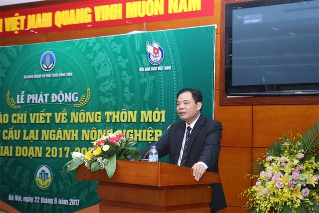 Bộ trưởng Nguyễn Xuân Cường phát biểu tại Lễ phát động.