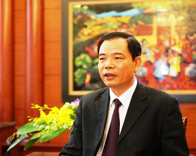 Bộ trưởng Bộ NN&PTNT Nguyễn Xuân Cường.