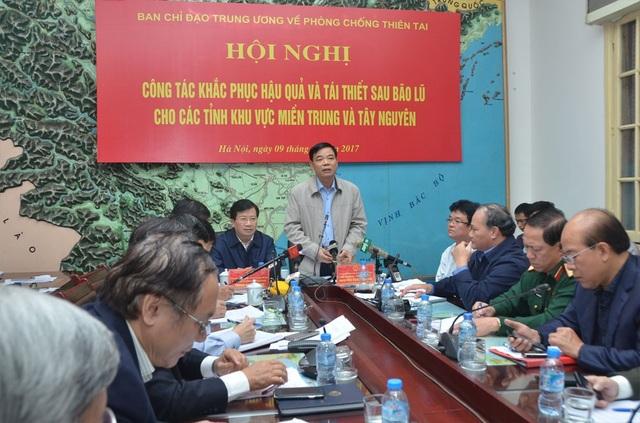 Bộ trưởng Nguyễn Xuân Cường lưu ý về an toàn các hồ thủy lợi tại khu vực miền Trung.