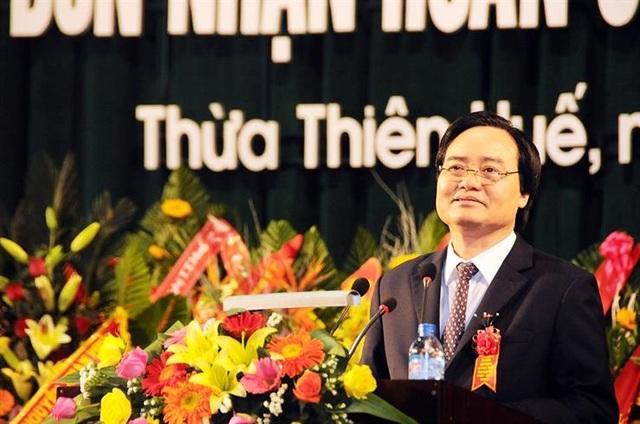 Bộ trưởng Bộ GD&ĐT Phùng Xuân Nhạ