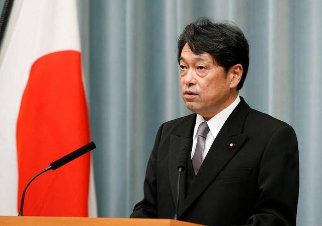 Tân Bộ trưởng Quốc phòng Nhật Bản Itsunori Onodera (Ảnh: Reuters)