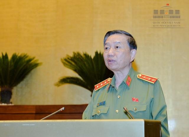 Bộ trưởng Công an Tô Lâm (Ảnh: Quochoi.vn).