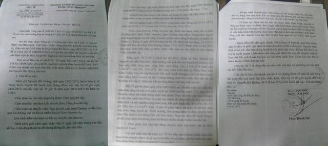 Sở Y tế Quảng Bình đã có báo cáo gửi Vụ sức khỏe Bà mẹ - Trẻ em, Bộ Y tế về sự việc