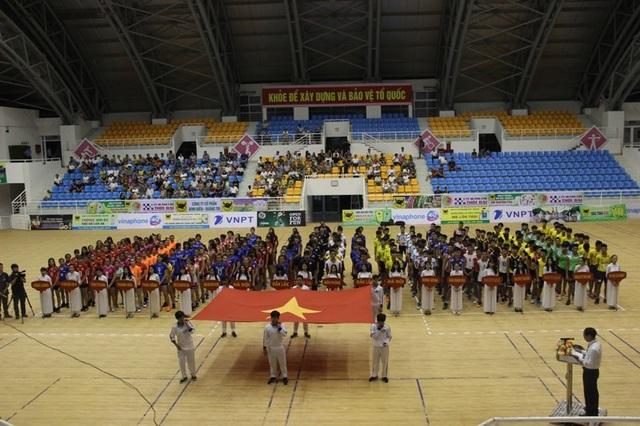 Khai mạc giải bóng chuyền trẻ toàn quốc 2017 tại Quảng Trị với 19 đội bóng tham gia thi tài