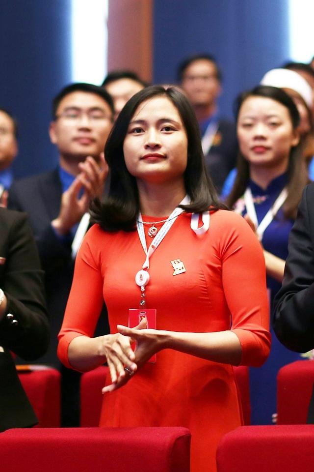 Những bóng hồng xinh đẹp tại Đại hội Đoàn toàn quốc lần thứ XI - 9