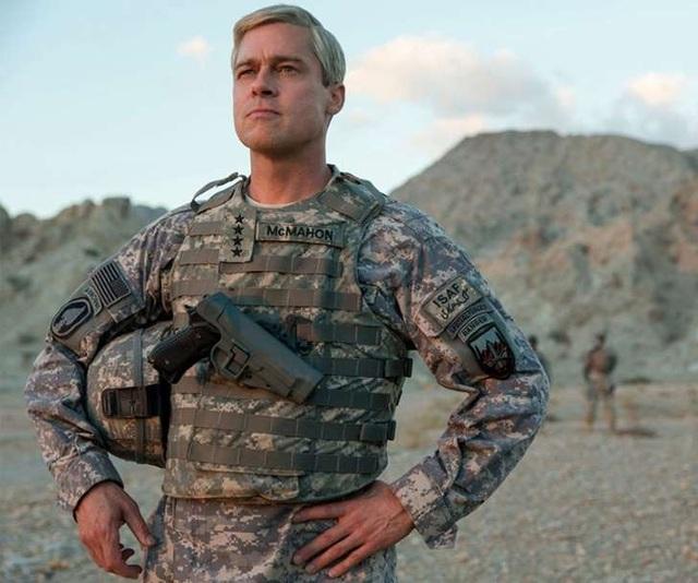 Tạo hình của Brad Pitt trong bộ phim mới War Machine