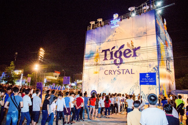 Trong 3 ngày sự kiện, đã có gần 10.000 bạn trẻ chinh phục Bức tường Tiger tại TP. Cần Thơ.