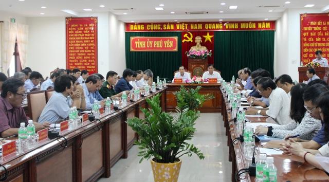 Quang cảnh buổi làm việc của Bộ LĐ&TBXH với tỉnh Phú Yên