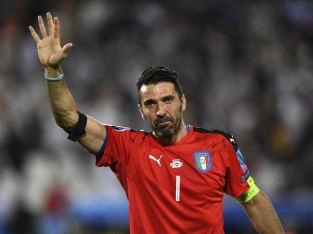 Buffon là người hùng của đội tuyển Italia ở Euro 2016
