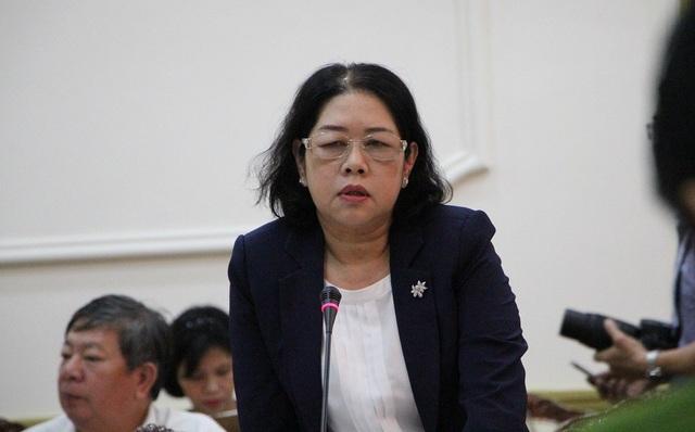 Phó Giám đốc Sở Giáo dục – Đào tạo TPHCM Bùi Thị Diễm Thu