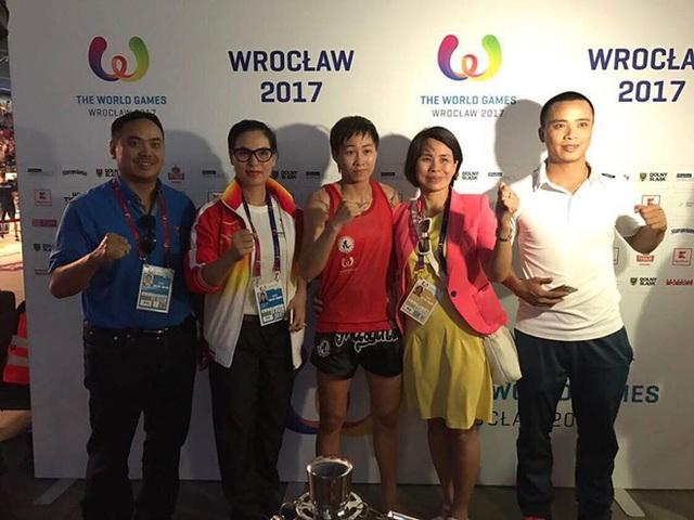 Đây là tấm HCV đầu tiên cho Thể thao Việt Nam tại World Games 2017