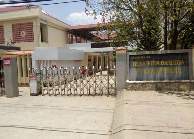 Bệnh viện Đa khoa huyện M'Đrắk bị tố tắc trách dẫn đến cái chết của bé 1 tháng tuổi