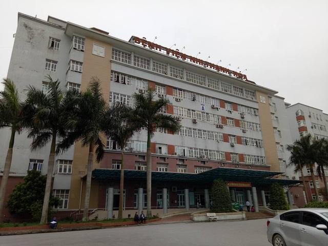 Bệnh viện Nhi Thanh Hóa- nơi các y bác sĩ thực hiện phẫu thuật thẩm mỹ chui cho khách hàng