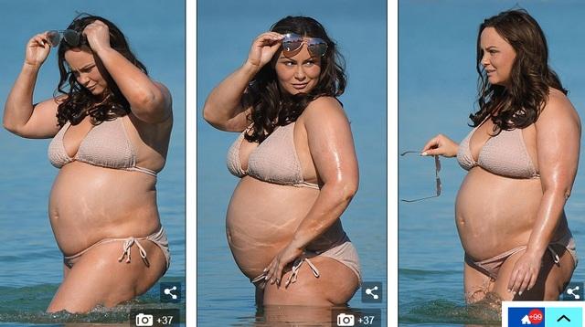 Chanelle Hayes cảm thấy rất thương em bé trong bụng và tiếc nuối, lẽ ra mình nên sống khoa học hơn trước khi có bầu