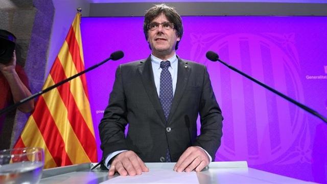 Lãnh đạo Catalonia cho biết, khu vực này sẽ đơn phương tuyên bố độc lập vào cuối tuần này hoặc đầu tuần sau. (Ảnh minh họa: Reuters)