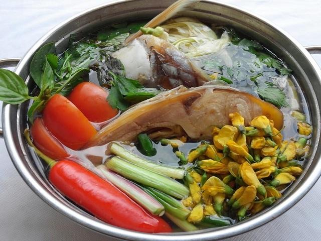 Món ăn từ cá cóc đâm màu sắc, hương vị miền Tây.