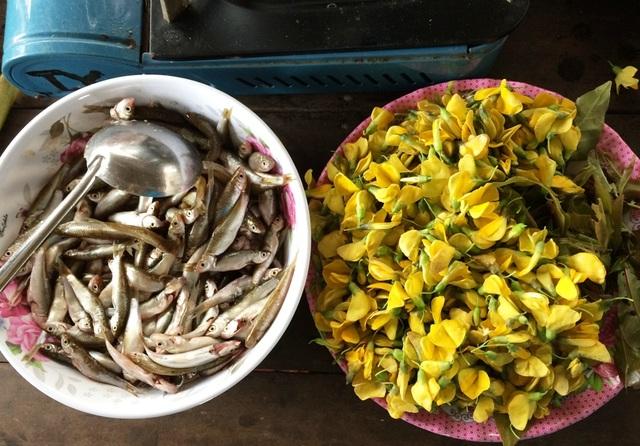 Cá linh là món ăn rất được yêu thích ở miền Tây.