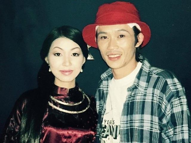 Hình ảnh của danh hài Hoài Linh và ca sỹ Hà My trước đây.