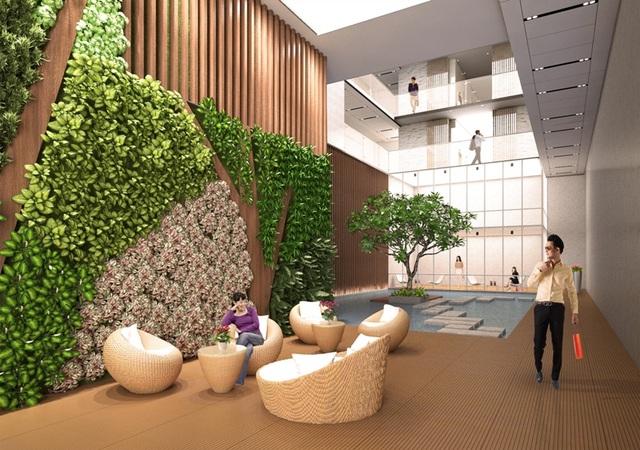 Trong mỗi tòa nhà, ngoài thiết kế hiện đại, đẳng cấp còn có đầy đủ các tiện ích nghỉ dưỡng