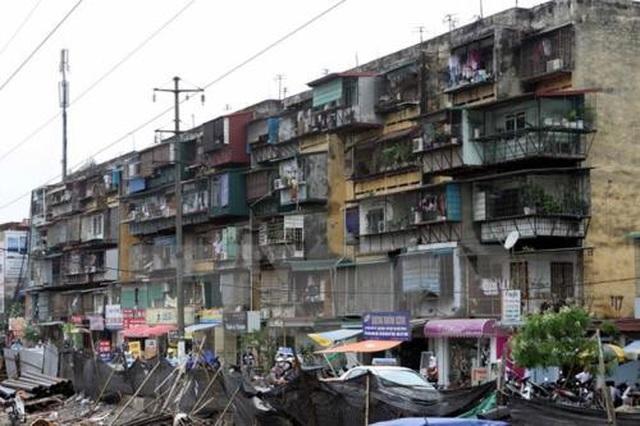 Hà Nội: Người dân ở chung cư cũ sắp có cơ chế cải tạo, xây mới - 1