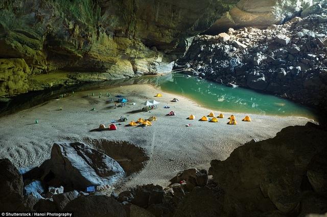 Hang Sơn Đoòng được bình chọn là một trong những điểm cắm trại lý tưởng nhất - 1
