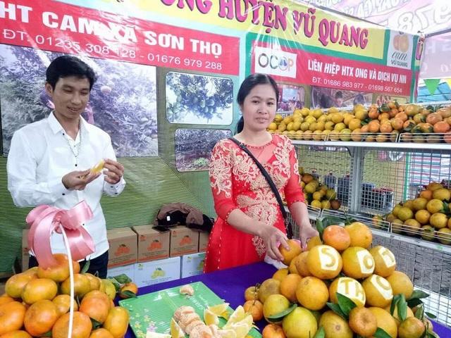 Cam và mật mía Sơn Thọ (huyện Vũ Quang) được nhiều người biết đến và lựa chọn
