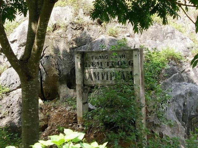 Cấm vi phạm ở Kẽm Trống nhưng hiện nay kẽm trống đã biến thành nơi khai thác đá