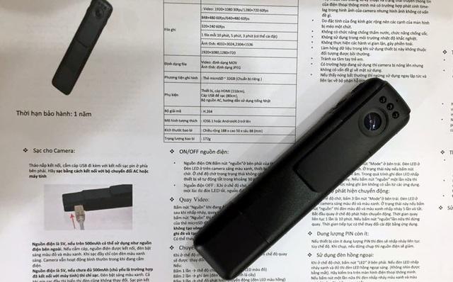 Camera giám sát dạng bút được tăng cường cho lực lượng 141.