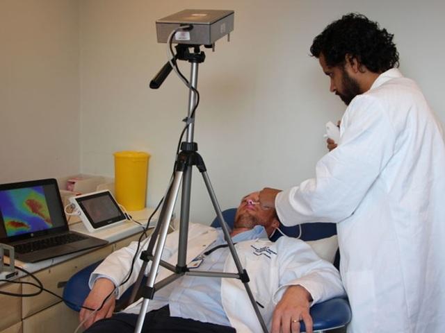 Camera có tiềm năng to lớn trong lĩnh vực y tế. Ảnh: Sky NEWS.