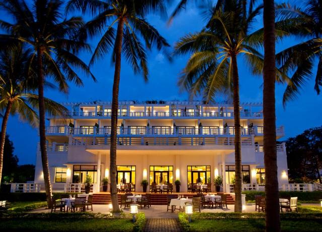 La-Residence là khách sạn nơi nhiều người nổi tiếng, nguyên thủ các nước đã từng ở