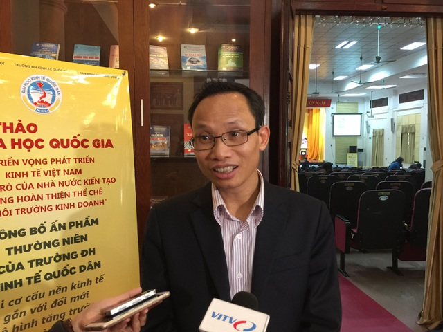 TS Cấn Văn Lực, Chuyên gia Tài chính - Ngân hàng (ảnh Nguyễn Tuyền)