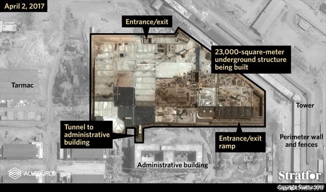 Trung Quốc xây căn cứ quân sự ở Djibouti từ tháng 2/2016. (Ảnh: Stratfor)