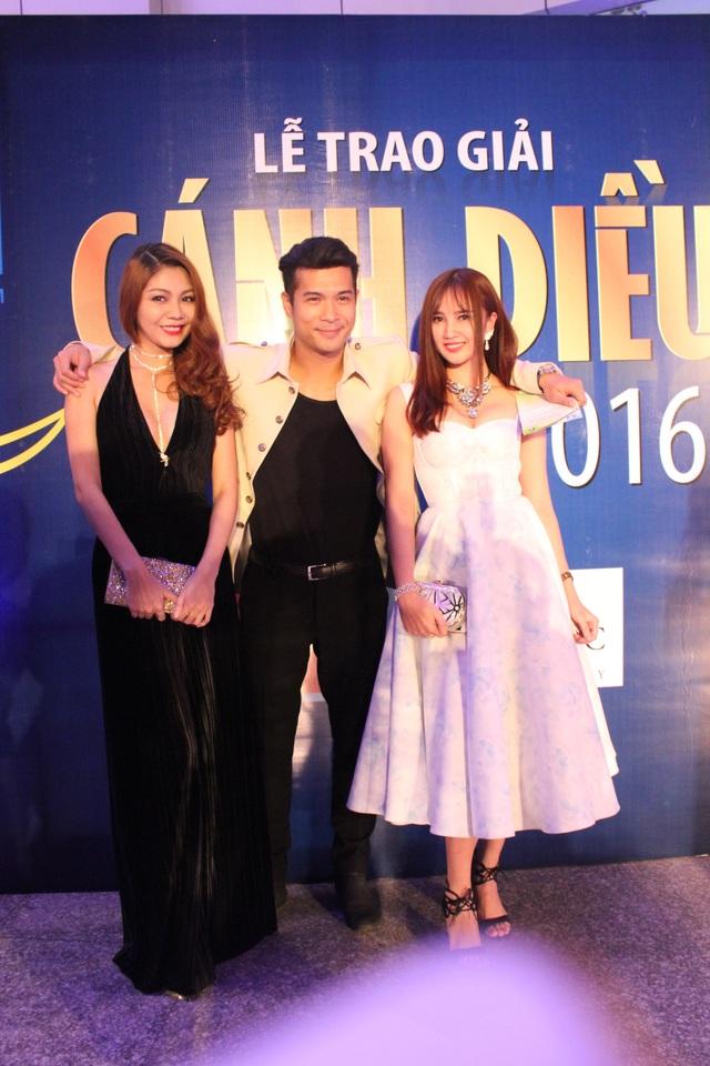 Diễn viên Trương Thế Vinh và đồng nghiệp.