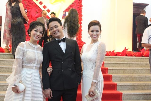 Soái ca Hồng Đăng, diễn viên Lã Thanh Huyền và Minh Hương.