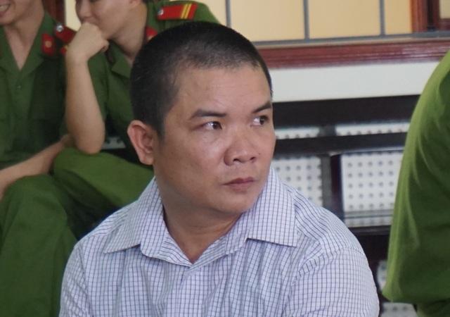 Bị cáo Cao Hữu Bình tại phiên tòa