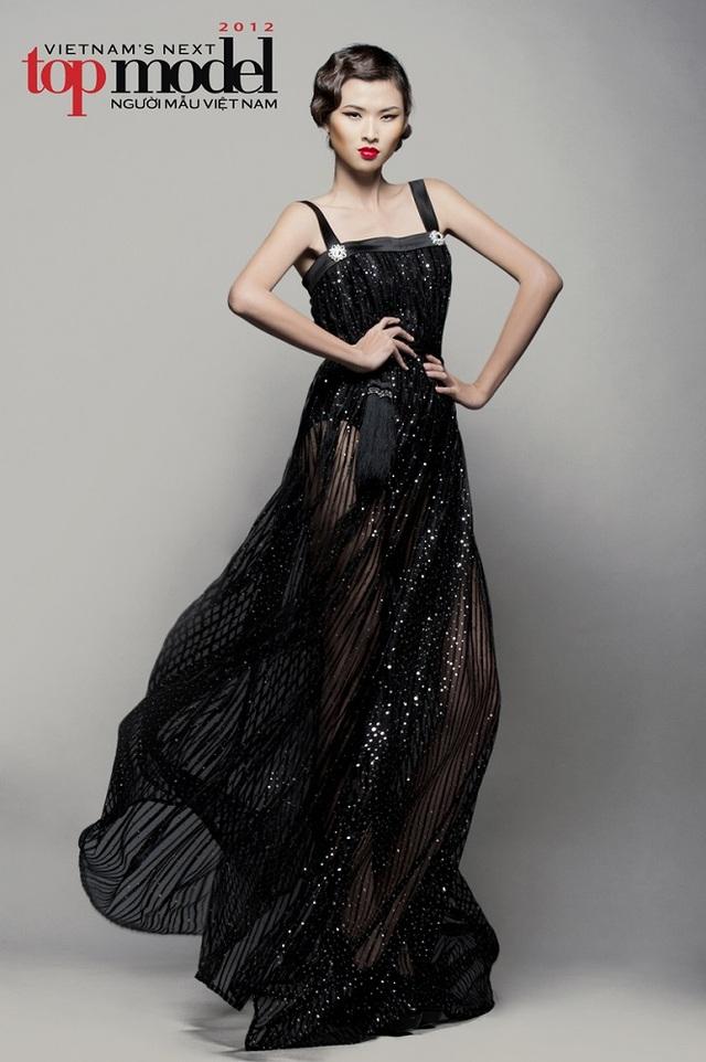 Cô là Top 3 của Vietnams Next Top Model 2012.