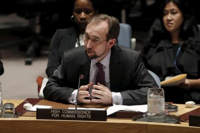 Cao ủy Liên Hợp Quốc về nhân quyền Zeid Raad al-Hussein (Ảnh: Reuters)