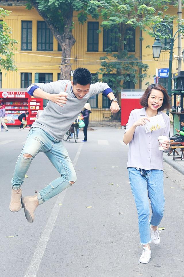 """Tùng Linh là một chàng trai rất """"nhắng"""", luôn trêu chọc bạn gái của mình"""